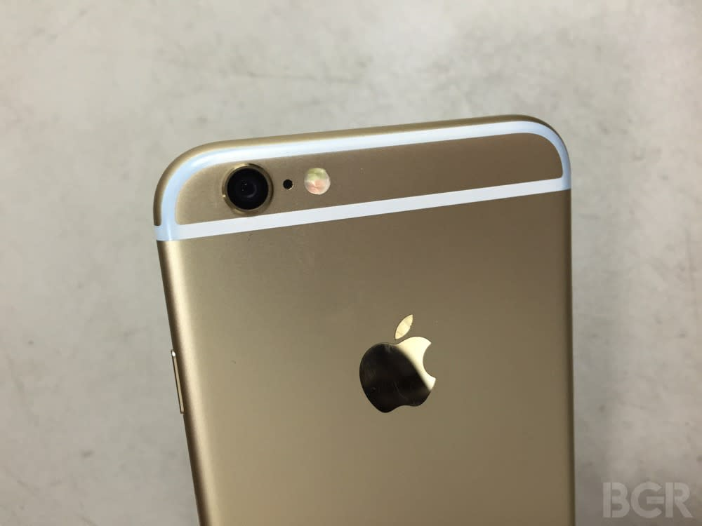 Leaked iPhone 6s photos show two important new features