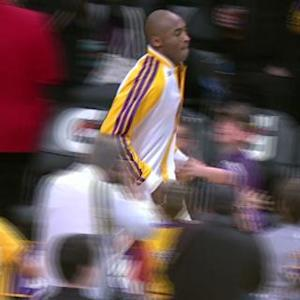 Kobe Runs Out Of Tunnel