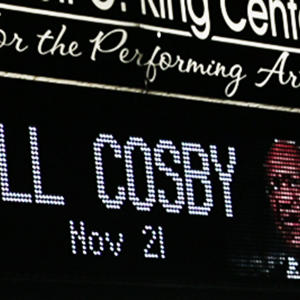 Audience Shows Love for Cosby at Comedy Show