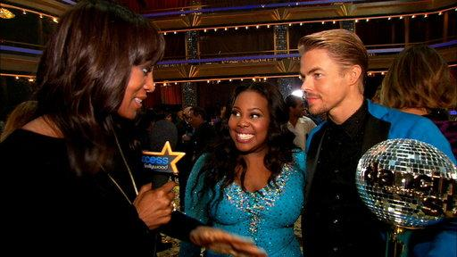 'Dancing With the Stars': Amber Riley Crowned Champ