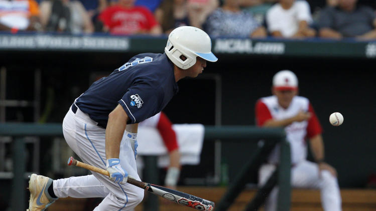 NCAA Baseball: College World Series-North Carolina vs North Carolina State