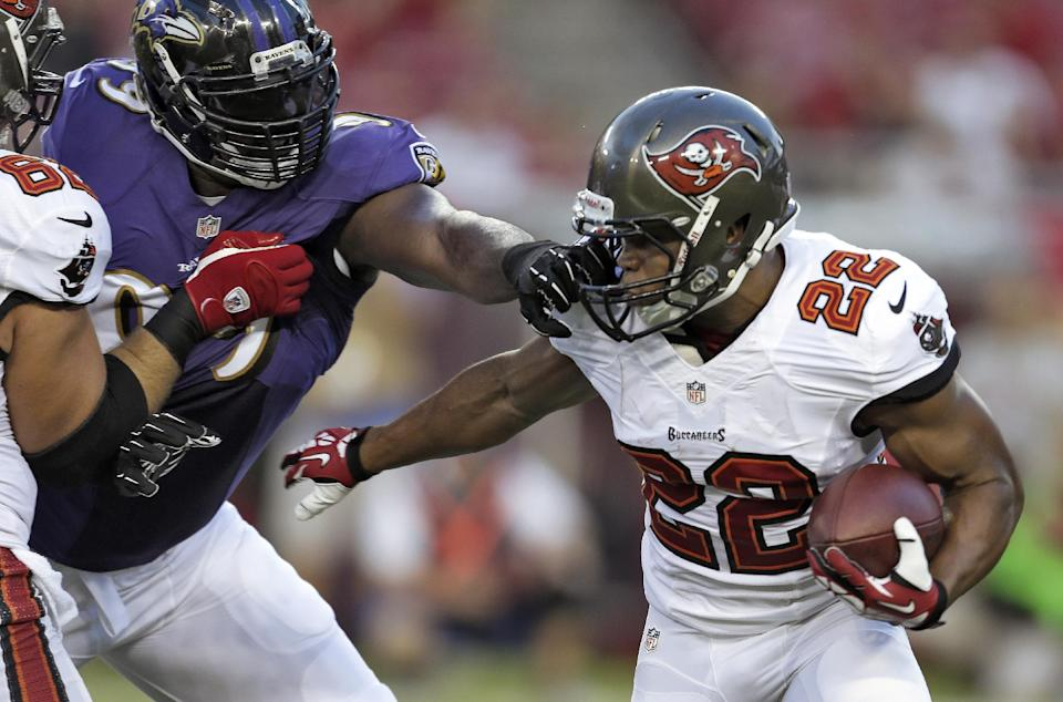 Flacco sharp, Ravens roll over Buccaneers, 44-16