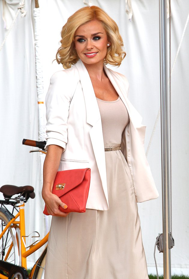 Katherine Jenkins at the polo