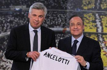 Perez tells Ancelotti that nothing is like the pressure at Madrid