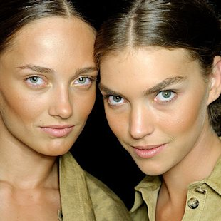 Michael Kors SS12 Backstage: Sun Kissed
