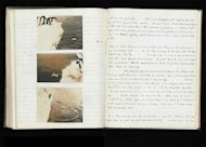 "Levick kept his notes on the penguins in two separate notebooks, one of which was for the ""depraved"" sexual acts he observed. The notebook, some coded in Greek, is being displayed until Sept. 2, 2012 at the Natural History Museum's exhibition """
