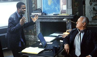 Chris Rock and Anthony Hopkins in Touchstone's Bad Company
