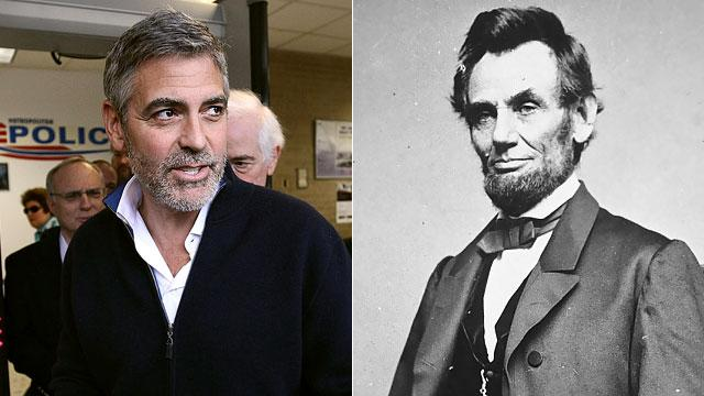 George Clooney Related to Abe Lincoln