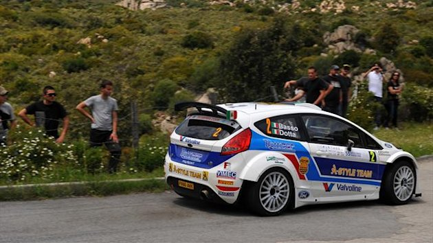 Giandomenico Basso Rally Córcega IRC 2012