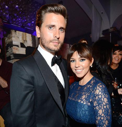 Kourtney Kardashian Celebrates Scott Disick, Late Dad on Father's Day