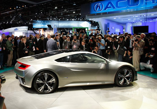 WTS  World Trade Site   Detroit Auto Show 2012  Acura NSX reborn