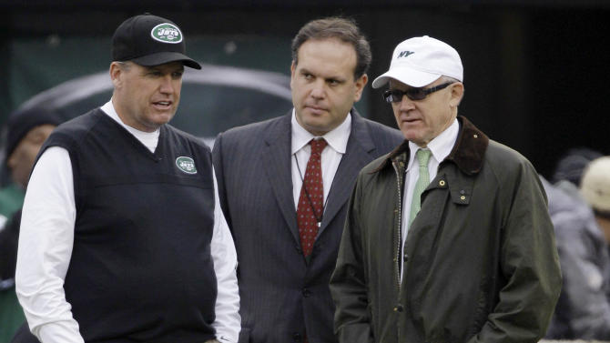 Ryan stays as Jets coach, GM Tannenbaum fired
