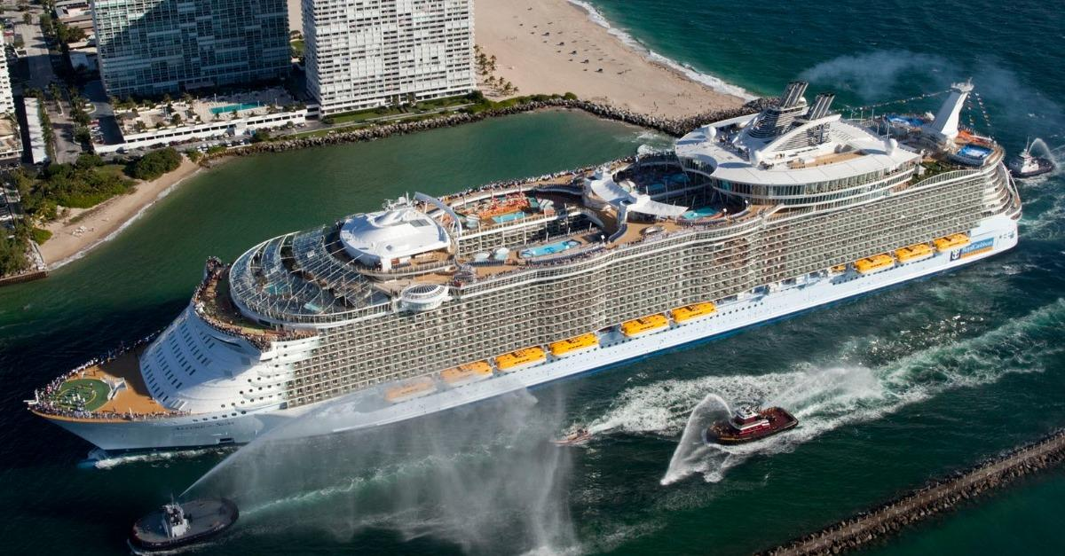 The Biggest Cruise Ship in the World (45 Pictures)