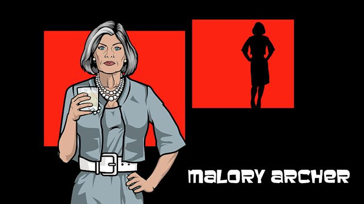 "Malory Archer (voiced by Jessica Walter) in ""Archer."""