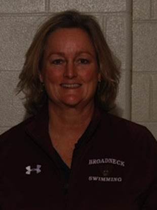 Broadneck girls swimming coach Colleen Winans-Parr — BroadneckAthletics.org