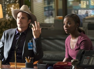 On Justified, Rachel's Quiet …