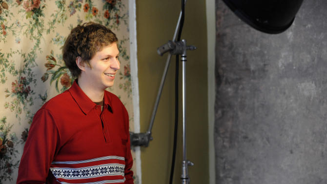 Actor Michael Cera poses for a portrait at the Fender Music lodge during the Sundance Film Festival on Friday, Jan. 18, 2013, in Park City, Utah. (Photo by Jack Dempsey/Invision for Fender/AP Images)