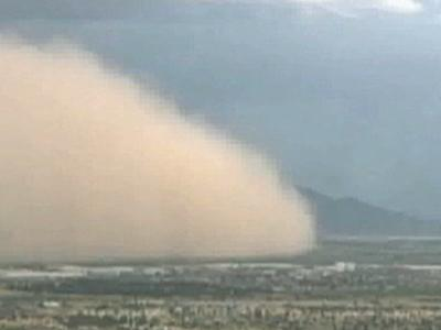 Raw Video: Dust Storm Blankets Phoenix