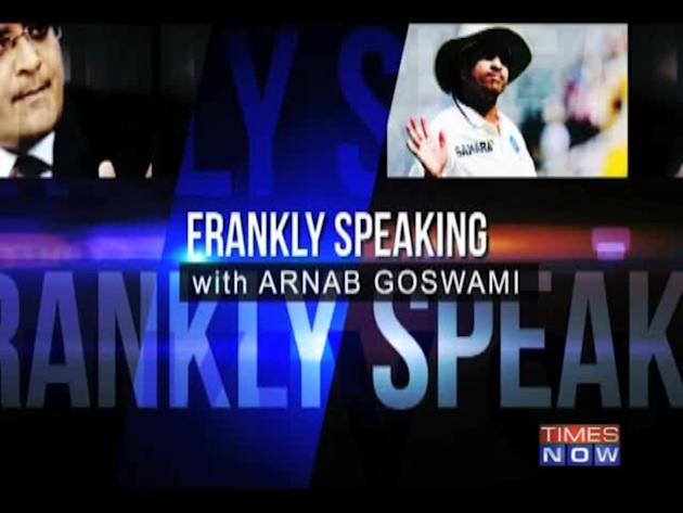 Frankly Speaking with Sachin Tendulkar