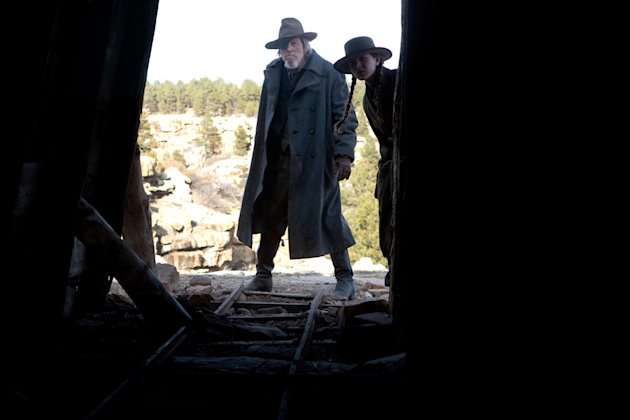 Jeff Bridges Hailee Steinfeld True Grit Production Stills Paramount 2010