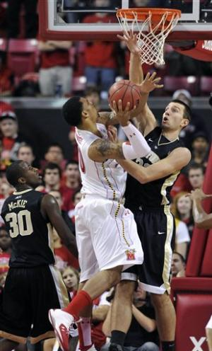 Maryland defeats Wake Forest 70-64