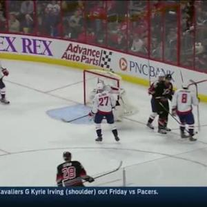 Braden Holtby Save on Justin Faulk (15:34/2nd)