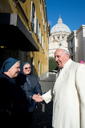 In this photo provided by the Vatican newspaper L'Osservatore …