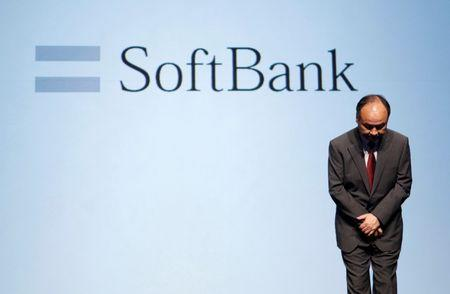 SoftBank Corp. Chief Executive Son attends a news conference in Tokyo