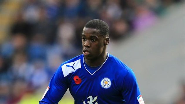 Jeffrey Schlupp has returned to Leicester after a trial at Manchester United