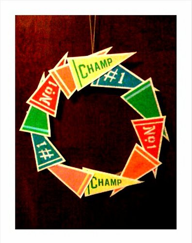 Pennant Wreath