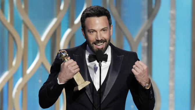 'Argo,' 'Les Mis' win at Golden Globes