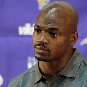 Minnesota Vikings running back Adrian Peterson: 'The first person I apologized to was my son'