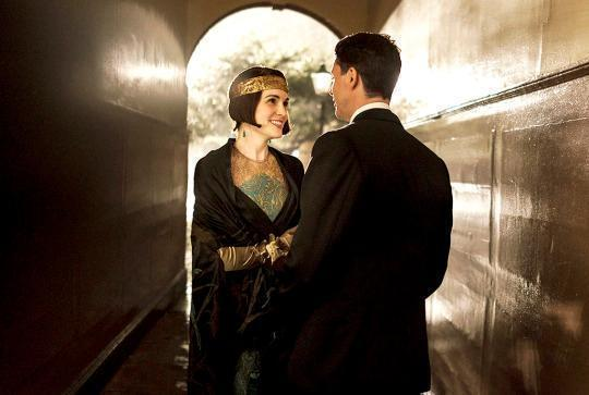 'Downton Abbey' Director Talks Mary and Henry's Romantic Moment in the Rain