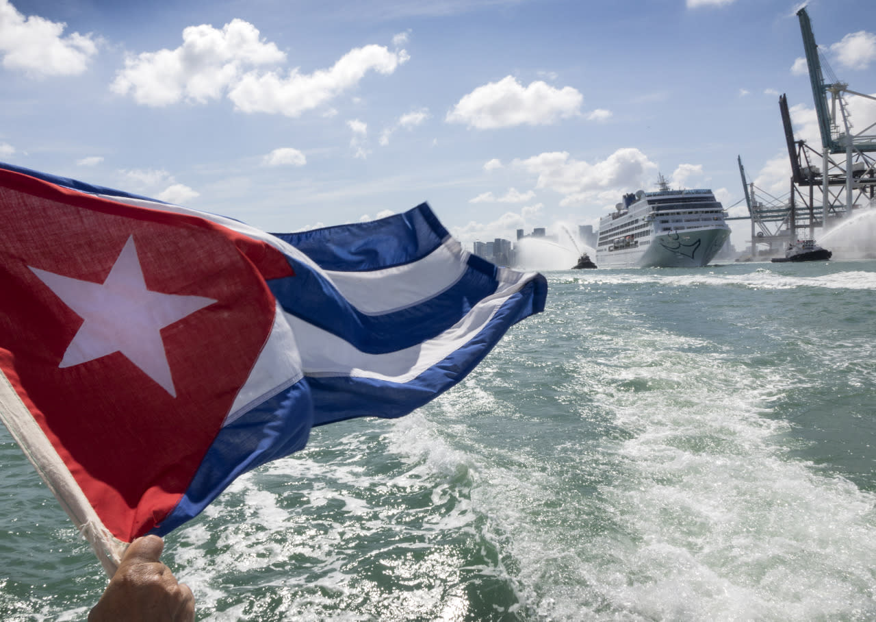 First U.S. cruise ship to arrive in Cuba in nearly 40 years