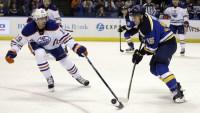 Fabbri's first spoils McDavid's debut as Blues down Oilers