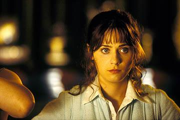 Zooey Deschanel as Trillian in Touchstone Pictures' The Hitchhiker's Guide to the Galaxy