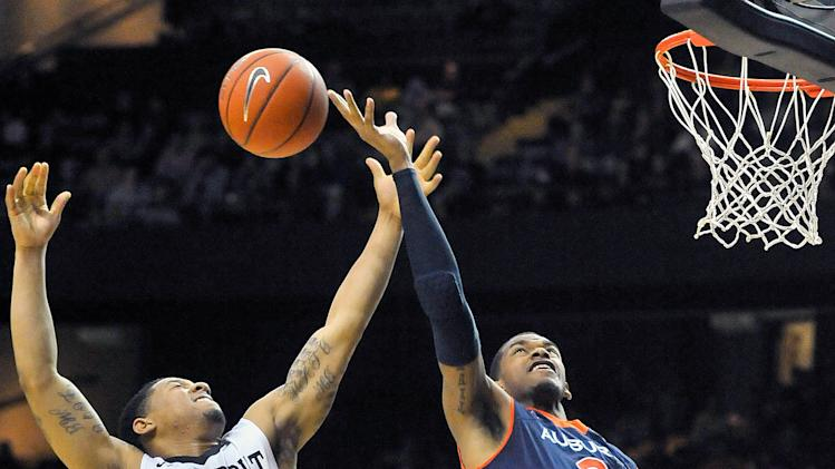 NCAA Basketball: Auburn at Vanderbilt