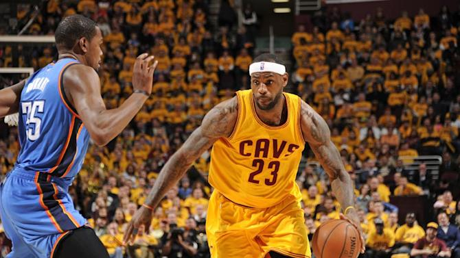 LeBron, Cavs climb in standings, back in title conversation