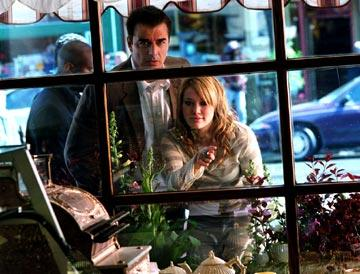 Chris Noth and Hilary Duff in Universal Pictures' The Perfect Man