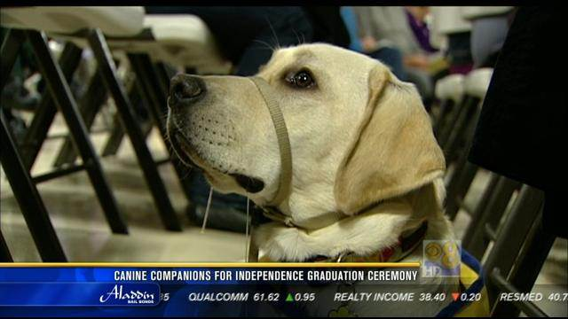 Canine Companions for Independence graduation ceremony