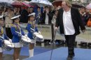 File photograph of French actor Depardieu arriving in Vladivostok