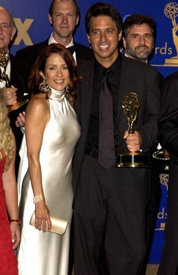 "Patricia Heaton, Ray Romano Outstanding Comedy Series ""Everybody Loves Raymond"" 55th Annual Emmy Awards - 9/21/2003"