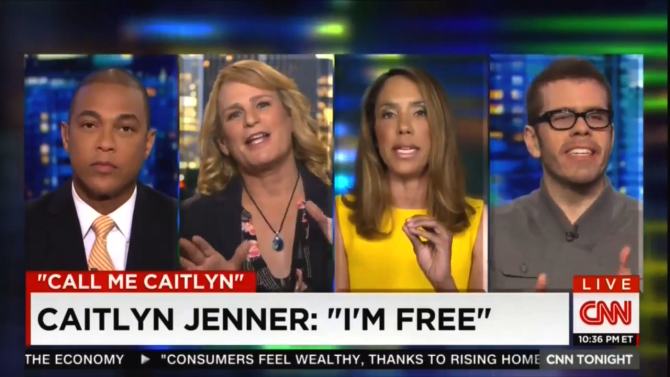 CNN Panel Becomes A Mess Debating Caitlyn Jenner
