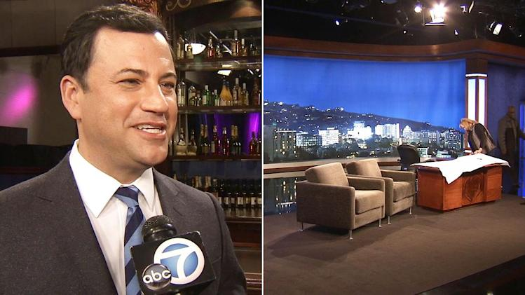 New set for new 'Jimmy Kimmel Live!' time slot