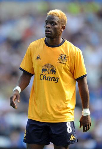 Louis Saha. Equipo actual: Everton