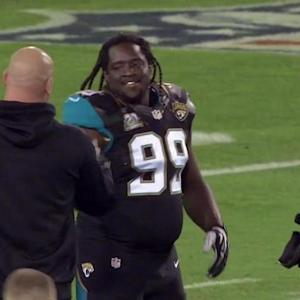 'Sound FX': Jacksonville Jaguars defensive lineman Sen'Derrick Marks searches for bonus sack