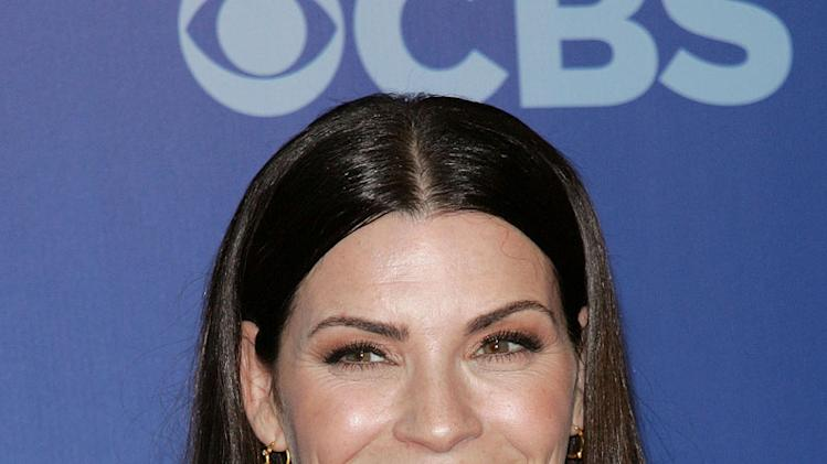 "Julianna Margulies (""The Good Wife"") attends the 2010 CBS Upfront at The Tent at Lincoln Center on May 19, 2010 in New York City."