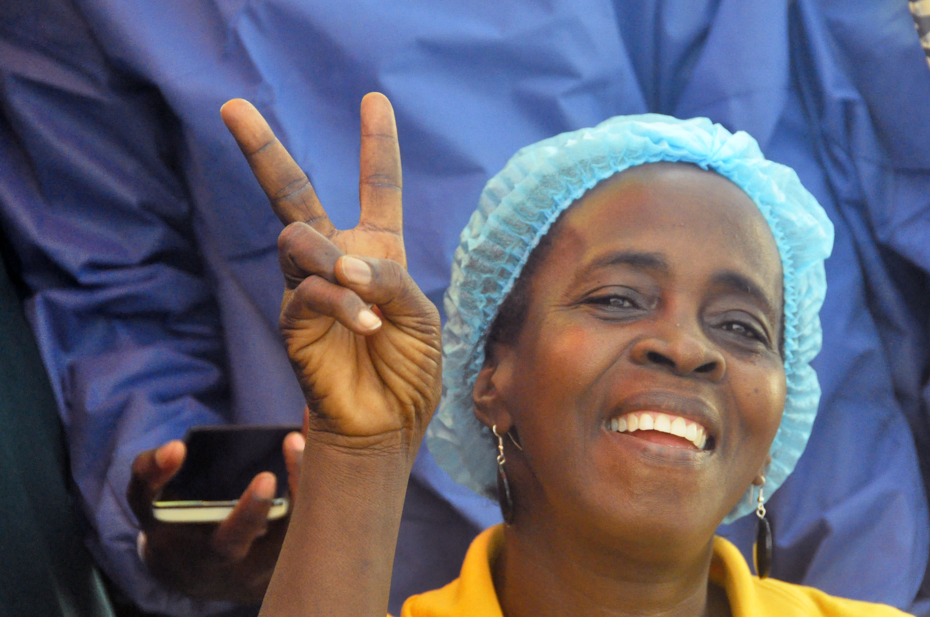 Last Ebola patient is released in Liberia