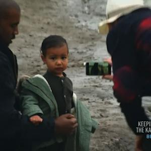Kanye and North West Make Rare Appearance on 'Keeping Up With the Kardashians'