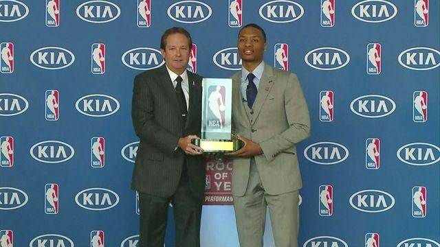 Damian Lillard named NBA Rookie of the Year [AMBIENT]